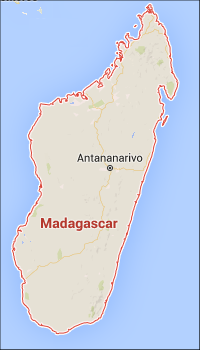 Madagascar Map: Sailing the Tsiribihina's river